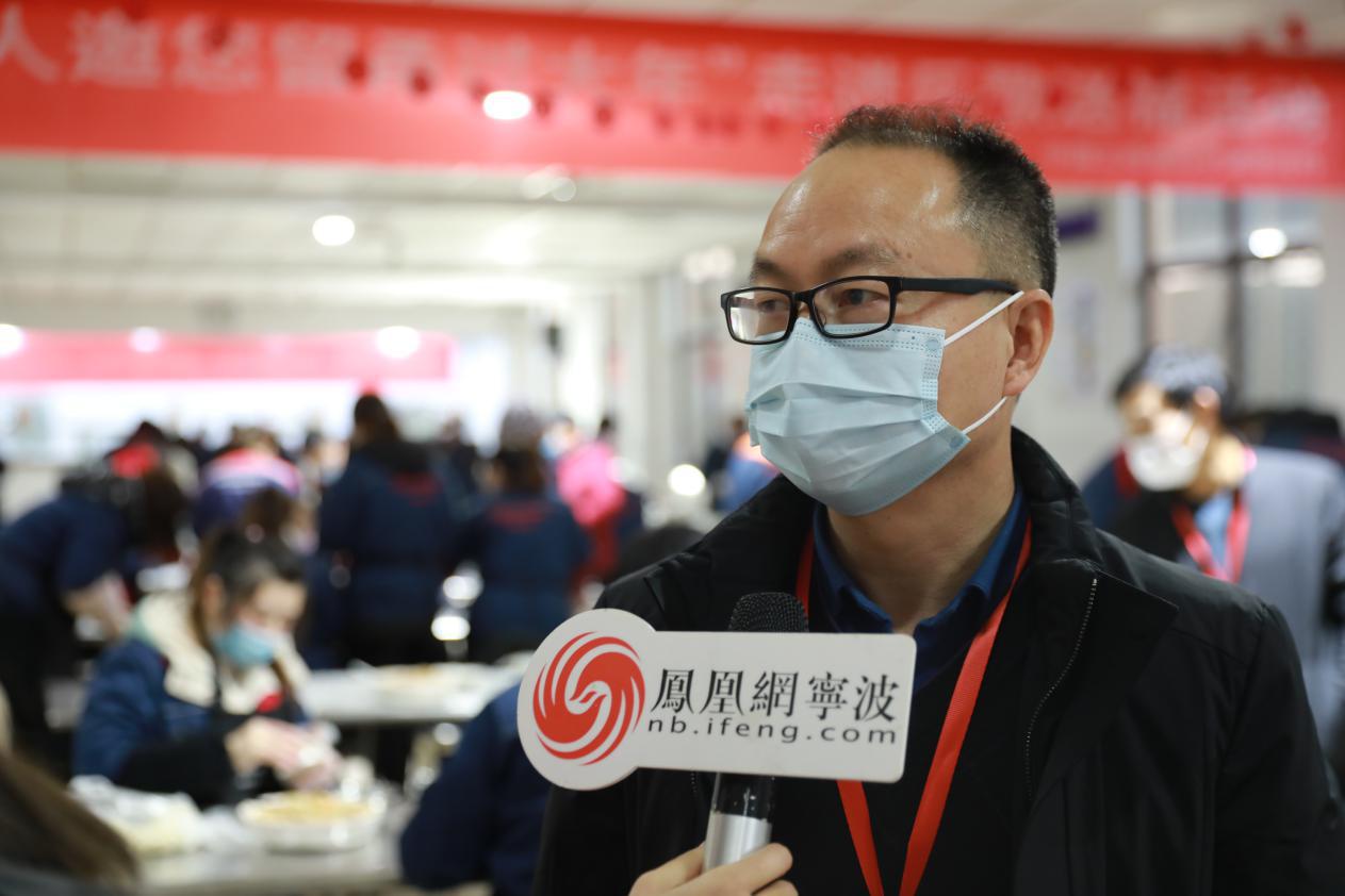 宁波市总工会权益保障部部长刘志勇