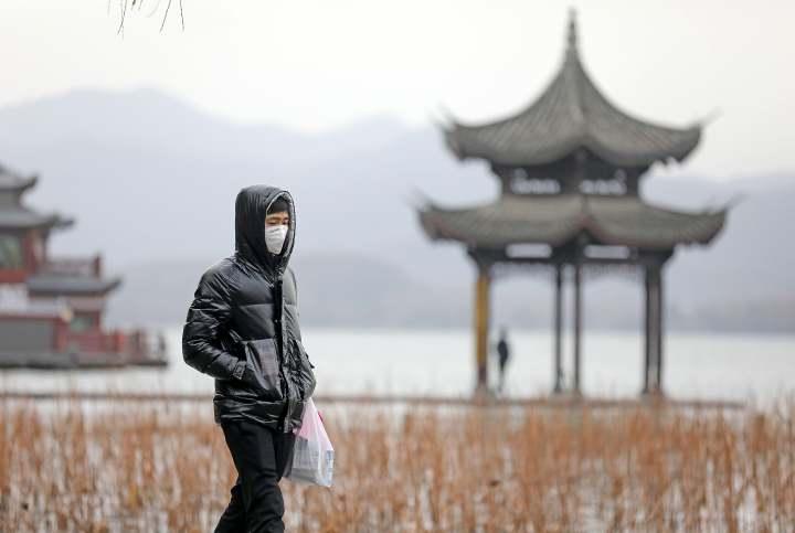 杭州西湖景区。浙江新闻客户端记者 林云龙 摄