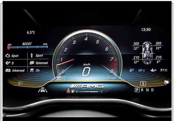 梅赛德斯-AMG将推全新跑车 2022年亮相/贯穿式尾灯-图10