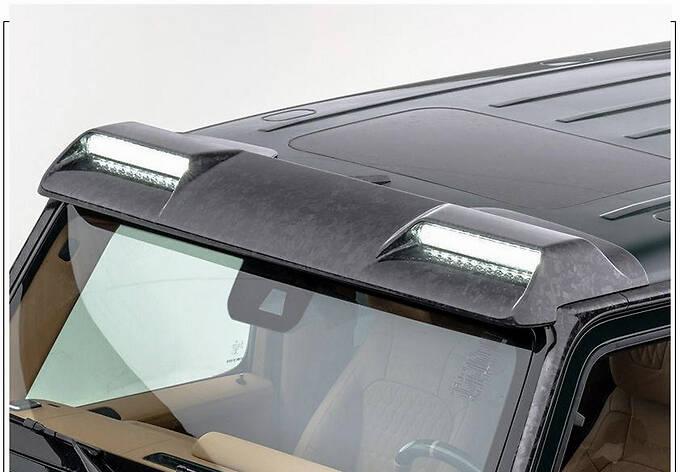 梅赛德斯-AMG G63改装版搭4.0T/配全新外观套件-图7