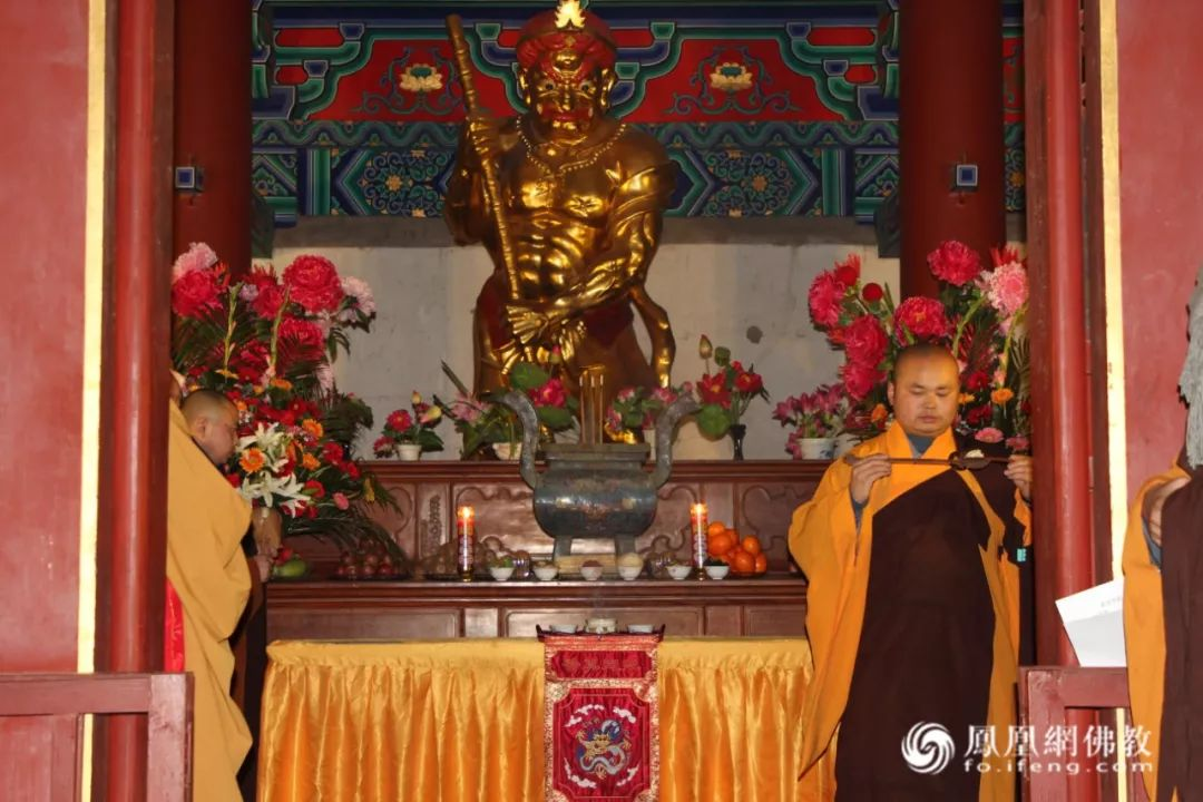 少林寺紧那罗王殿(图片来源:凤凰网佛教)