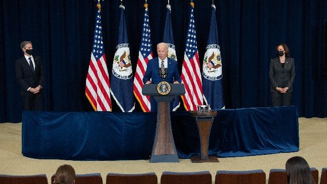 拜登发表首次外交政策讲话谈及中国 对华采用战术应该已明确
