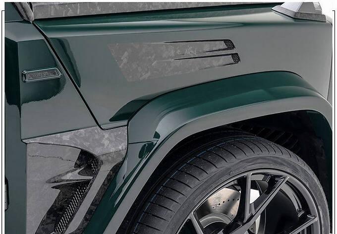 梅赛德斯-AMG G63改装版搭4.0T/配全新外观套件-图6