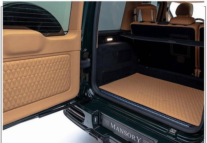 梅赛德斯-AMG G63改装版搭4.0T/配全新外观套件-图11
