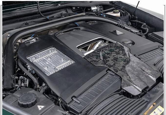 梅赛德斯-AMG G63改装版搭4.0T/配全新外观套件-图8