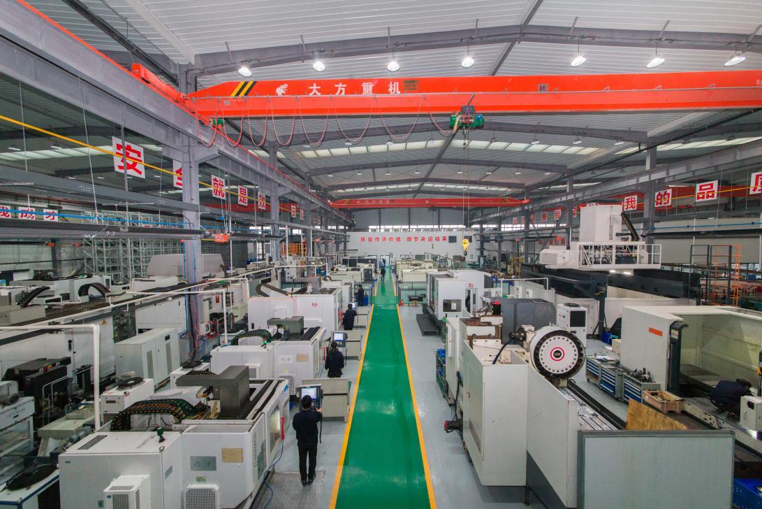 西安势加动力科技有限公司生产厂房
