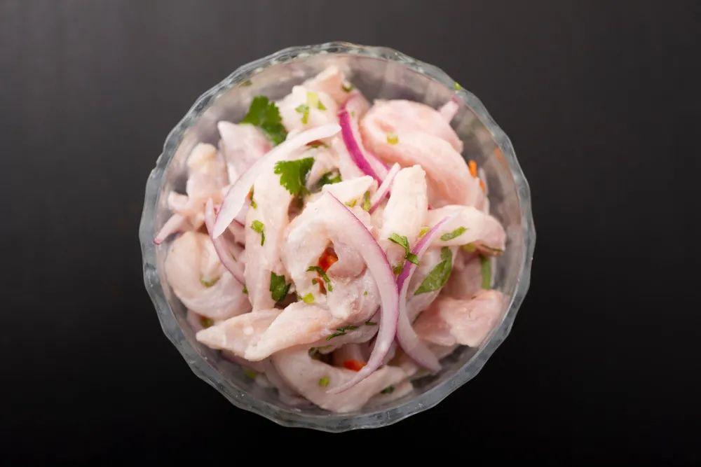 △低调的辣椒不会这么轻易地在秘鲁菜上现身,需要仔细看才会发现它的身影/图虫