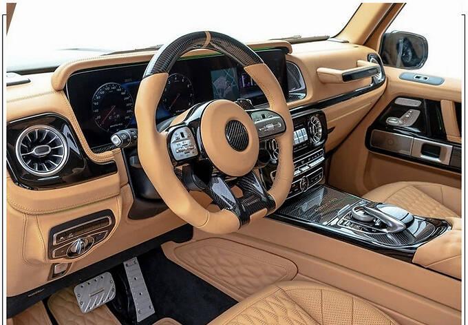 梅赛德斯-AMG G63改装版搭4.0T/配全新外观套件-图9