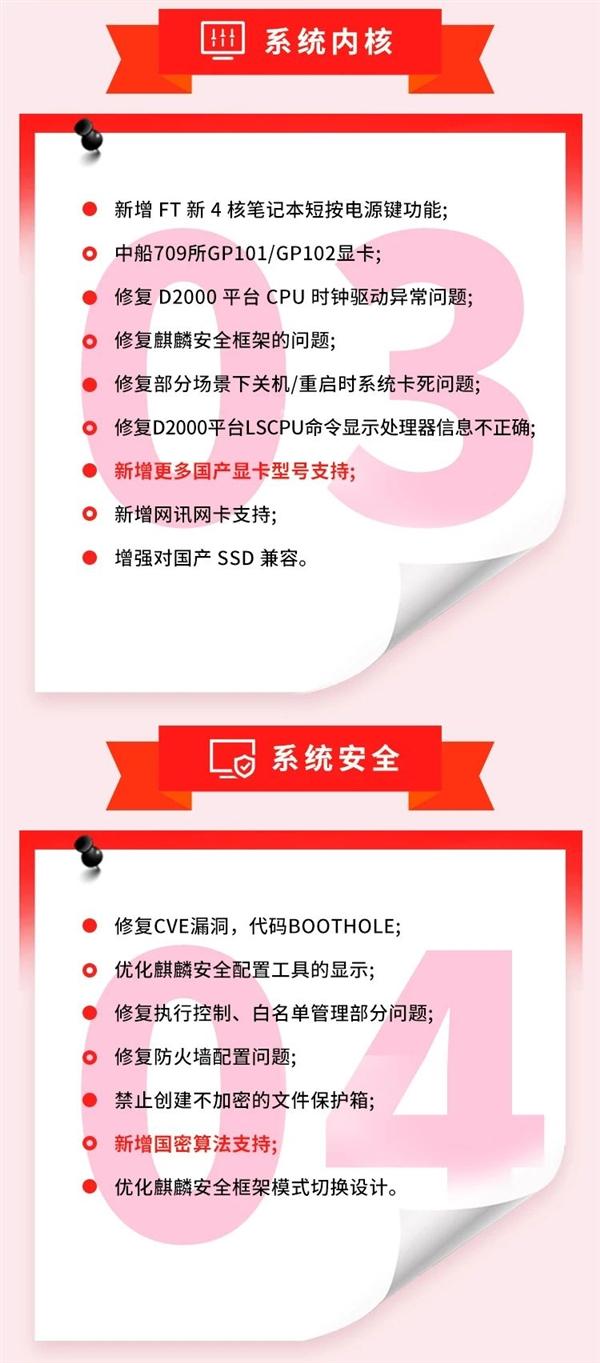 银河麒麟OS V10更新:全面优化国产CPU、显卡、SSD
