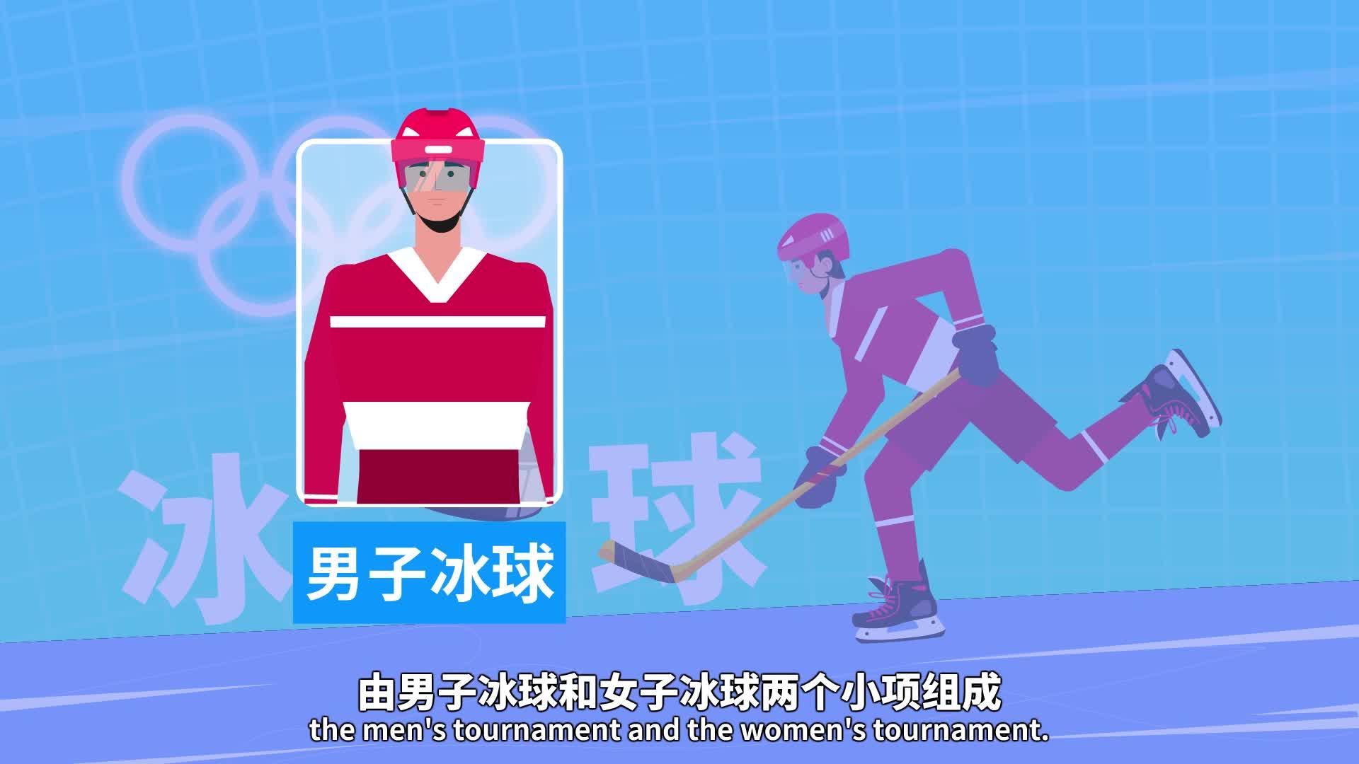 冰球,冬奥压轴大戏