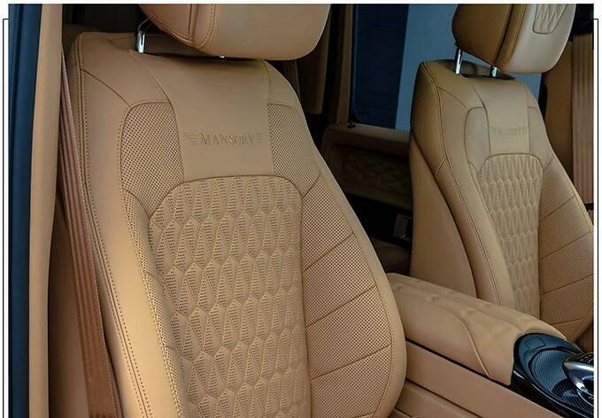 梅赛德斯-AMG G63改装版搭4.0T/配全新外观套件-图10