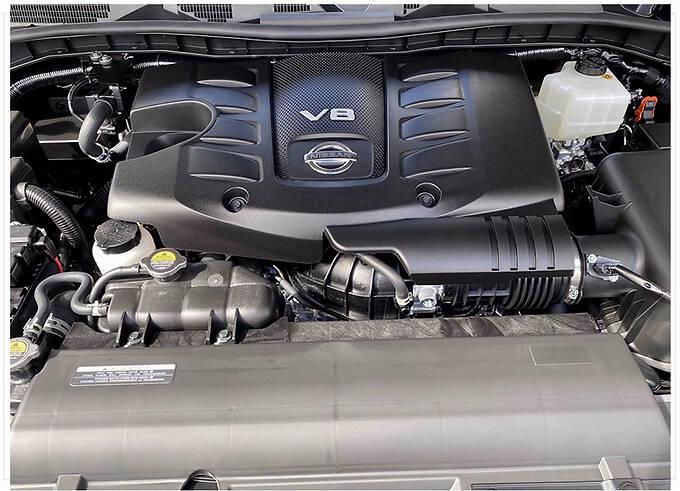 日产新款途乐实拍曝光搭5.6L V8/配全新造型灯组-图8