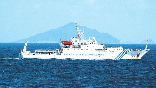 日媒:中国海警船巡航钓鱼岛,系海警法实施后首次