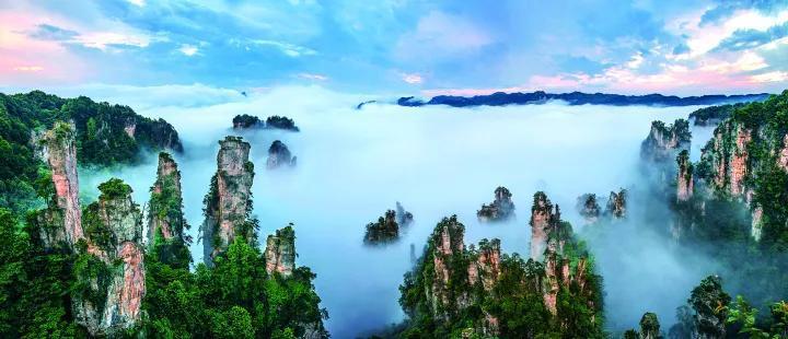 春节期间 张家界多景区正常开放