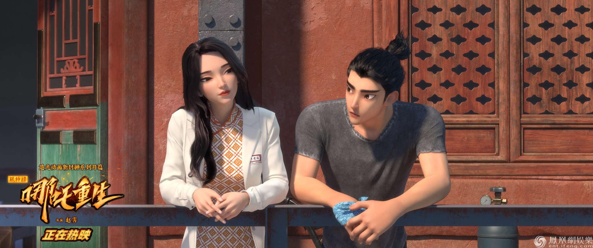 新哪吒李云祥與蘇醫生在病房外走廊懇談