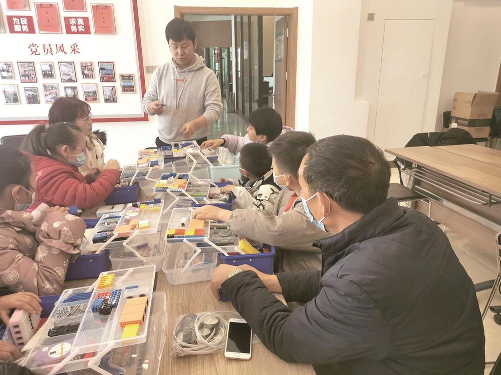 香格里拉社区举办关爱留守儿童专题活动。