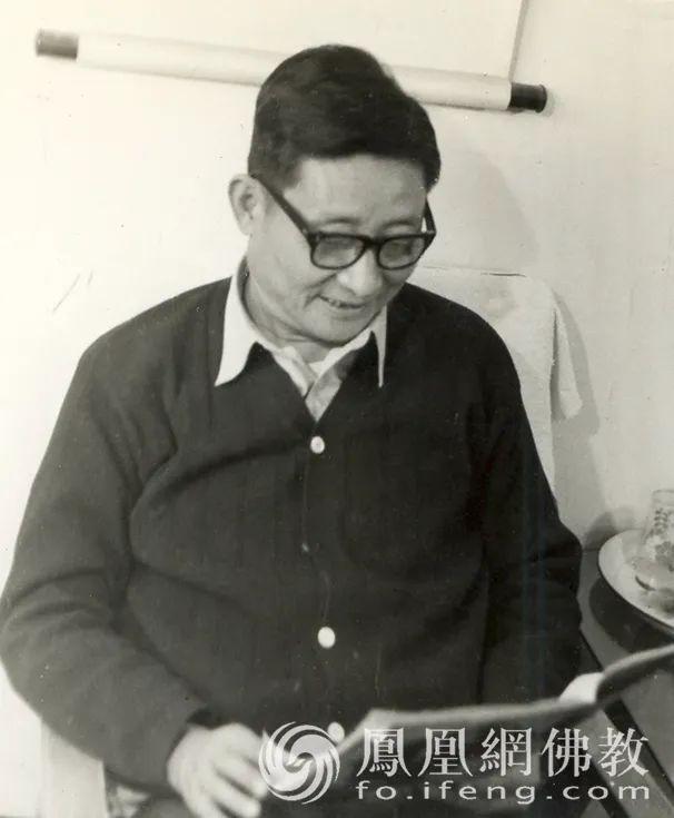 1958年考入北京大学哲学系副博士研究生,后任讲师、哲学编译室主任、东方教研室主任等职(图片来源:凤凰网佛教)