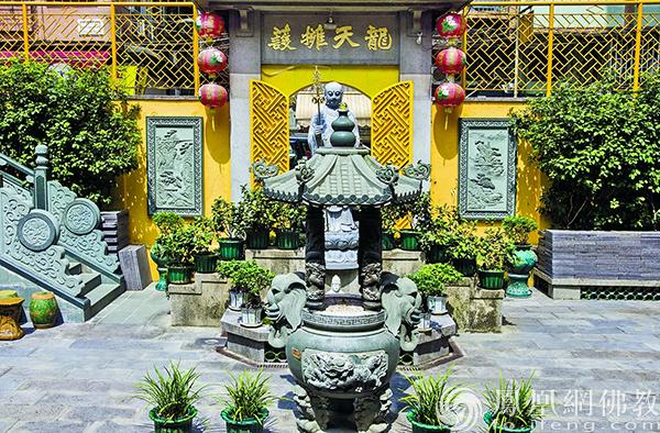 药王禅院一角(图片来源:凤凰网佛教 摄影:澳门佛教总会)