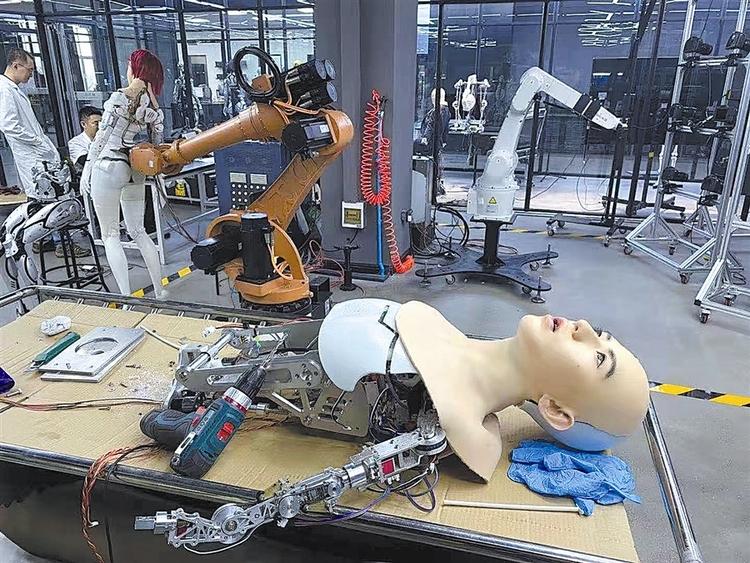 全球首家仿生机器人未来科技馆今年将亮相大连
