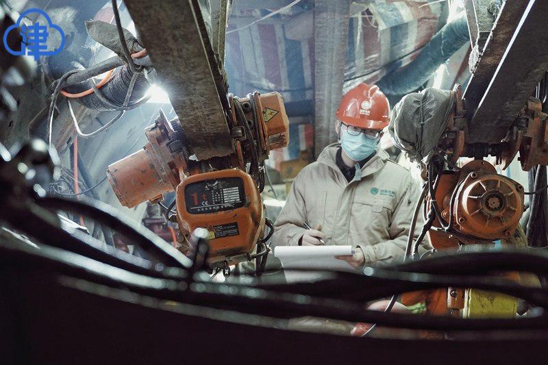 延吉道220千伏电源线工程复工复产 为本市首个电网隧道工程