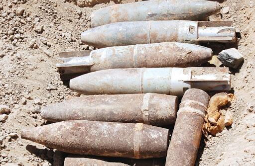 出现在阿富汗战场的未爆弹