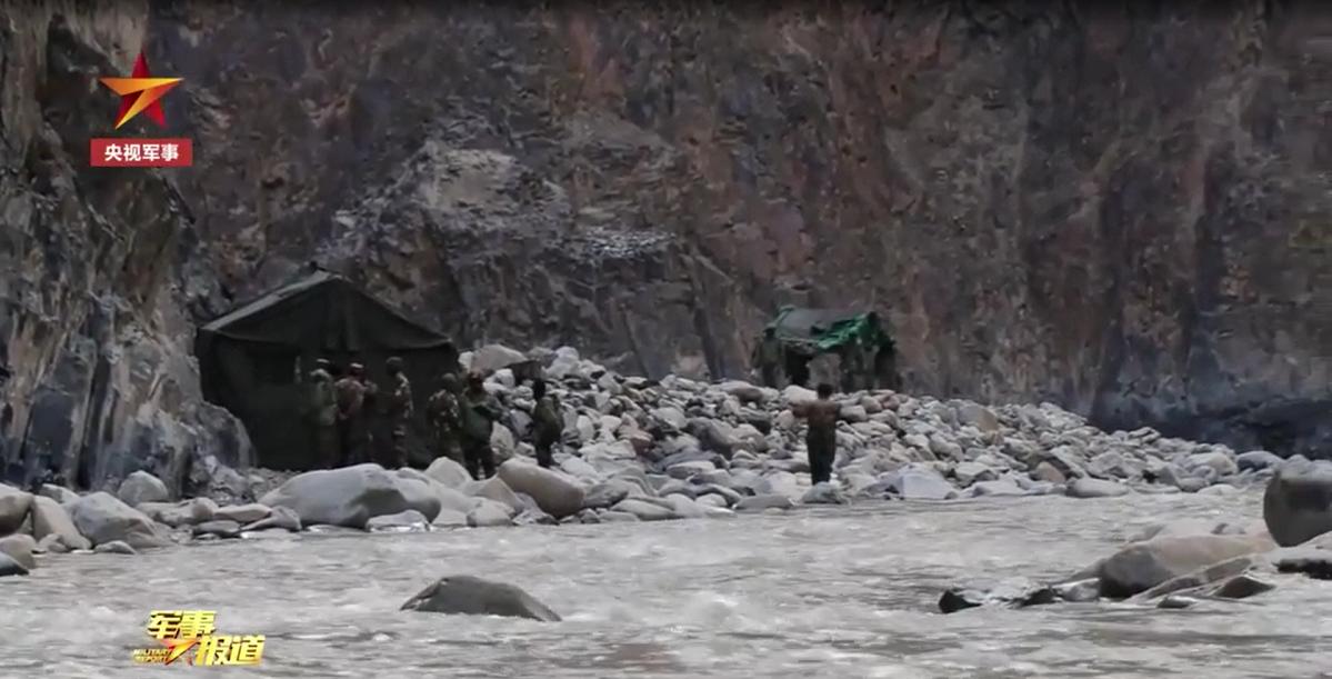 中国官方视角下的中印加勒万河谷冲突现场始末