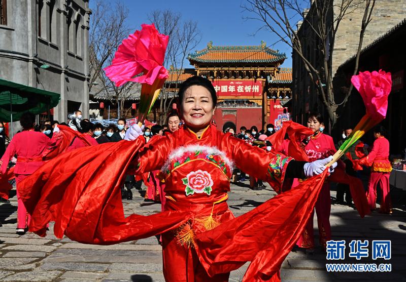 忻州古城年味浓