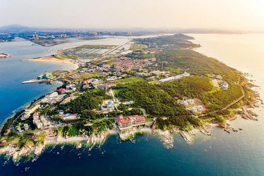 养马岛度假区。仙境为虚,海岛悠闲舒适的环境才是现代人真正的修仙圣地