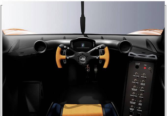 Gordon Murray发布新款跑车 搭V12引擎/重量更轻-图8