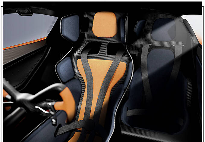 Gordon Murray发布新款跑车 搭V12引擎/重量更轻-图9