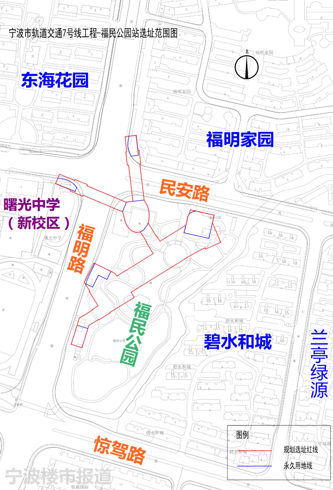 8号线一期洪大路站,位于江北区洪塘街道洪大南路上,北环西路南侧、榭嘉路北侧。