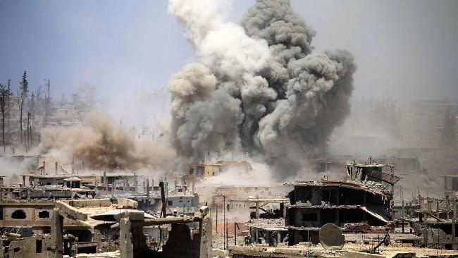 俄外长:美袭击叙利亚前4-5分钟才通知俄军