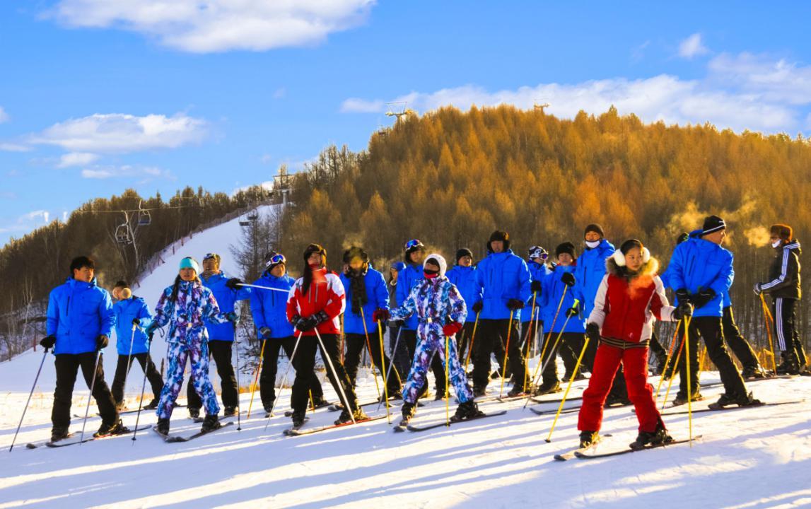 黑河红河谷国际滑雪场