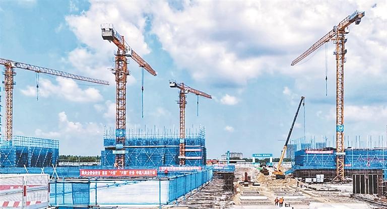 2020年,黑龙江招商引资实现逆势增长。资料片