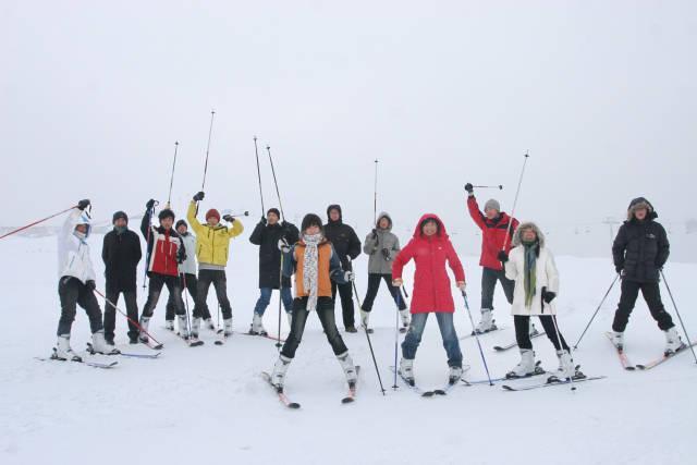 明月岛黑龙越野滑雪场