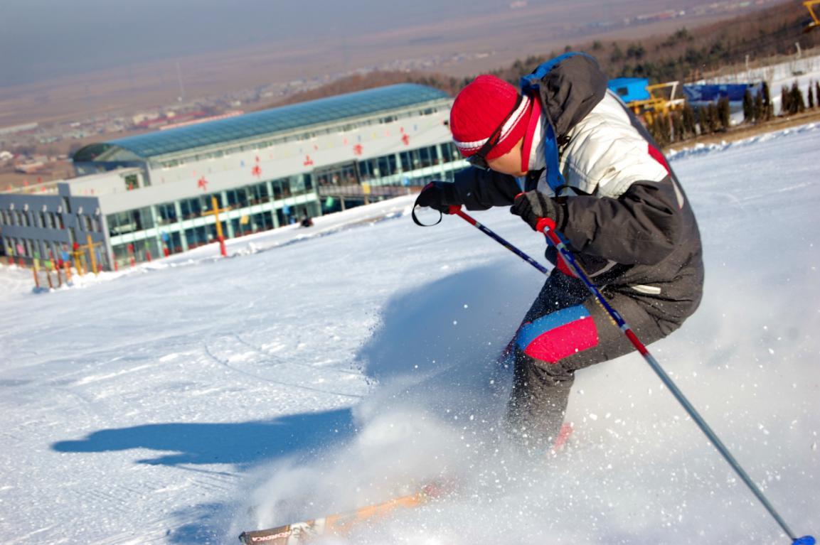 佳木斯卧佛山滑雪场