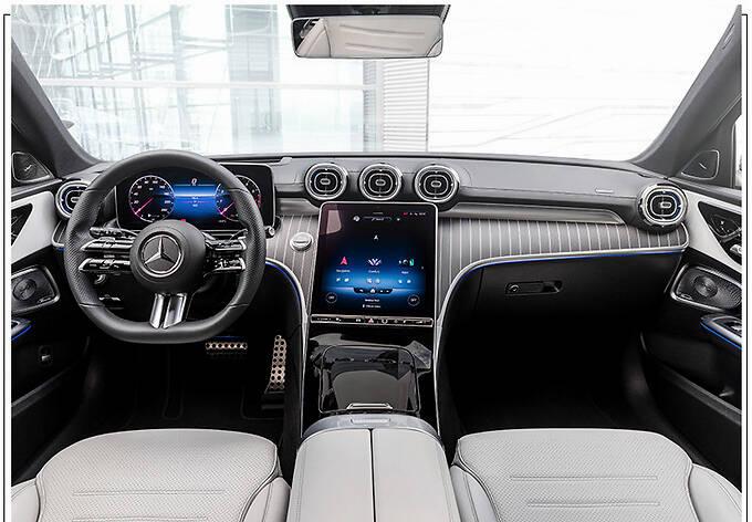 梅赛德斯-AMG全新C63曝光搭2.0T/年底即将亮相-图5