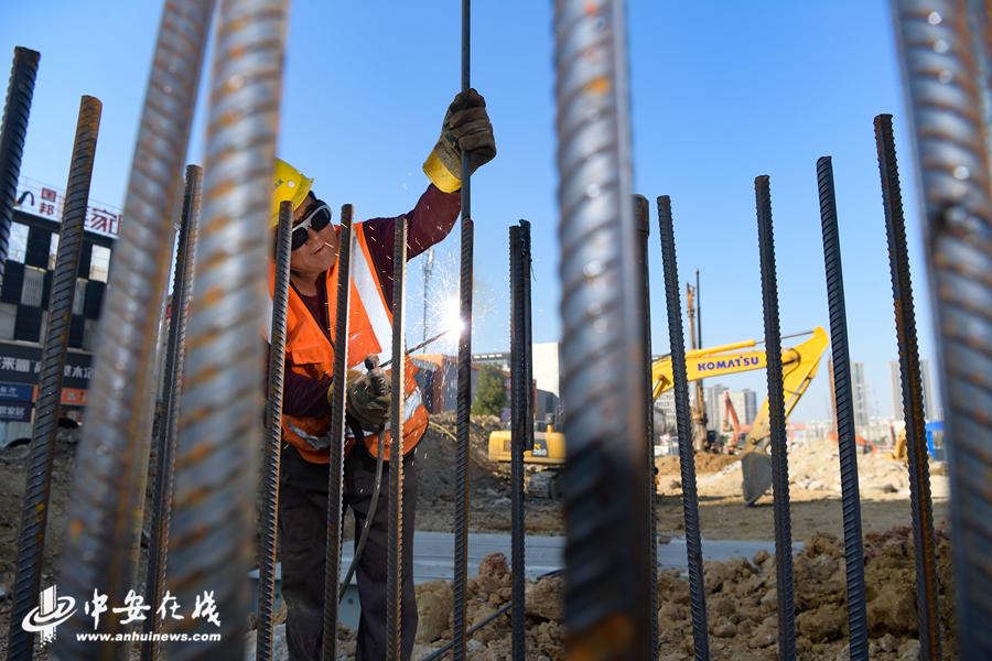 焊接匝道钢筋笼