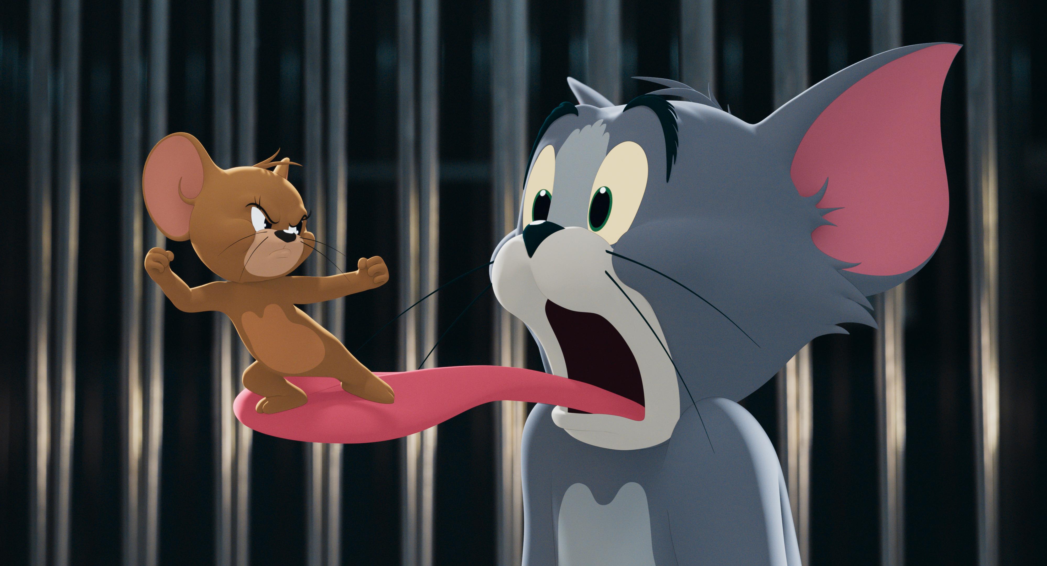 《猫和老鼠》剧照。