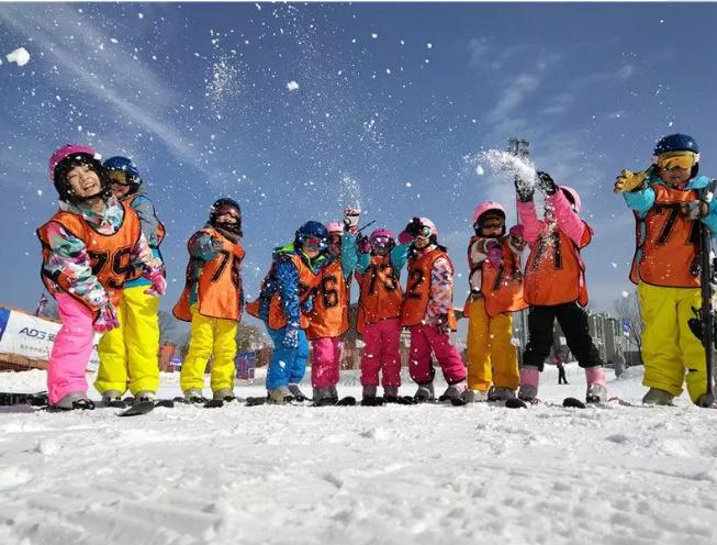 牡丹江东村滑雪公园