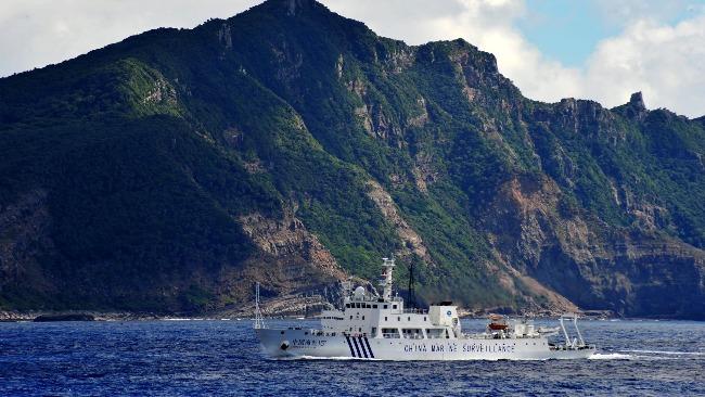 美国挺日本要求中国停止巡航钓鱼岛 中方驳斥