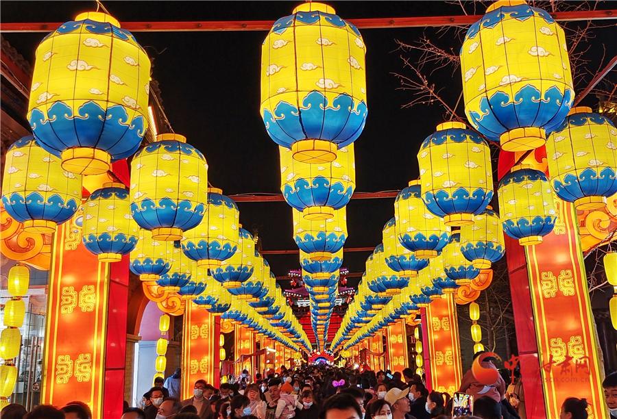 三千盏灯点亮黄河之滨
