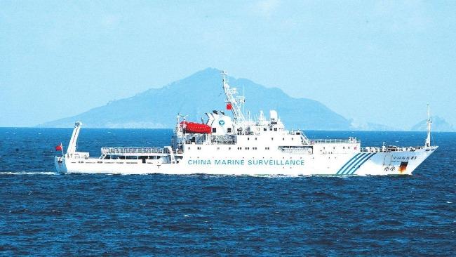 中国海警巡航钓鱼岛 日媒炒作:政府对华太软弱