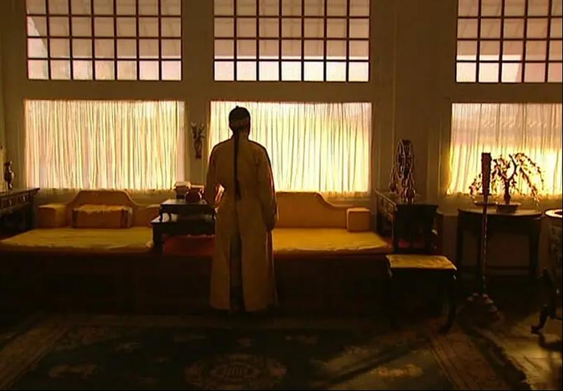 电视剧《雍正王朝》(1999)剧照。