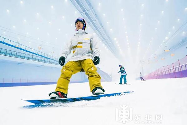 哈尔滨融创雪世界。