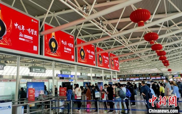 三亚机场迎来节后客流高峰T2航站楼恢复使用