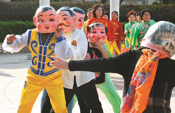 铜陵市铜官区金口岭社区:载歌舞展民俗