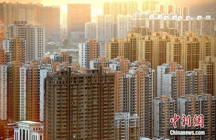 资料图:房地产楼盘。<a target='_blank' href='http://www.chinanews.com/'>中新社</a>记者 张斌 摄