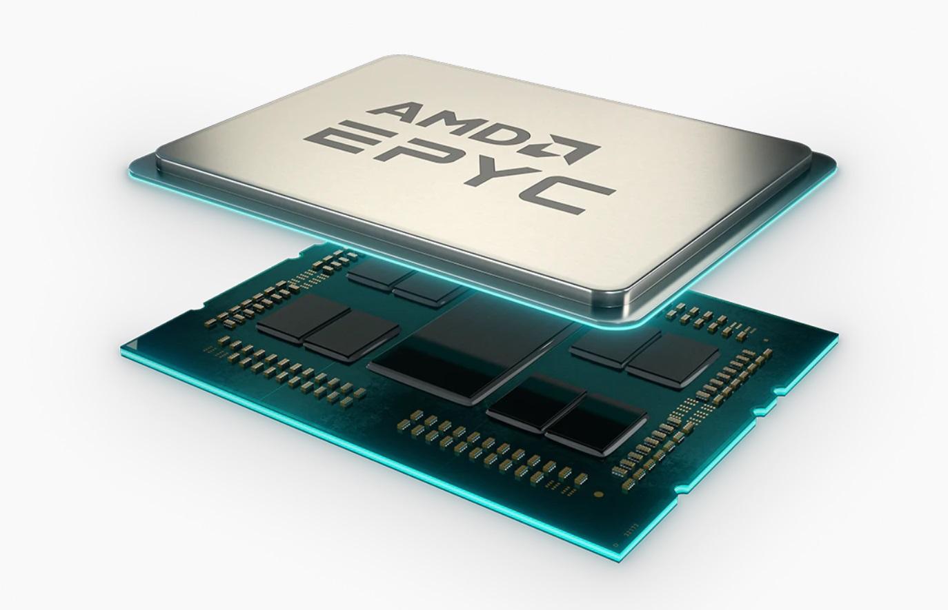 ? AMD EPYC 7763 64核Zen3架构处理器跑分曝光:不如48核前代产品 处理器跑分