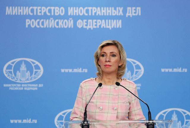 俄罗斯外交部发言人扎哈罗娃 图源:俄新社
